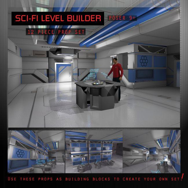 Sci Fi Level Builder