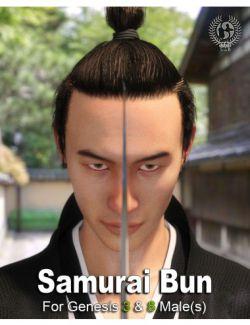 Samurai Bun For Genesis 3 And 8 Males