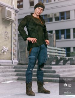 dForce Hot Shot Outfit for Genesis 8 Male(s)