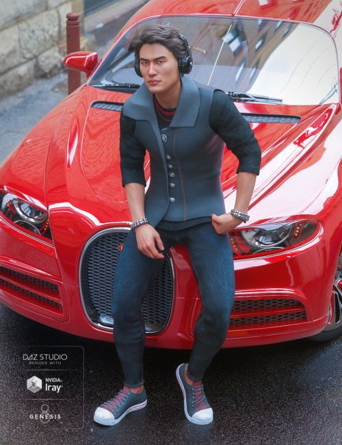Hippusuta Outfit for Genesis 8 Male(s)
