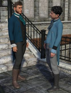 dForce Regency Outfit for Genesis 8 Male(s)