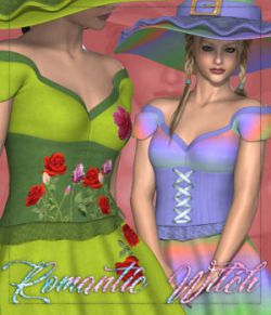 DA-Romantic Witch for Dawn Witch by 3DTM
