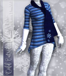 Cold Outside for Frosty Winter Genesis 3 Female(s)