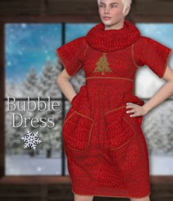 Bubble Dress for V4 and Poser