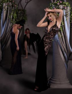 dForce Ready! Cosmopolitan Poses for Genesis 8 Female
