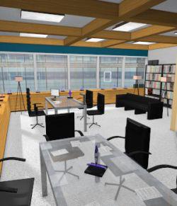 High End Office for Poser 7+