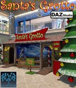 Santa's Grotto for Daz Studio