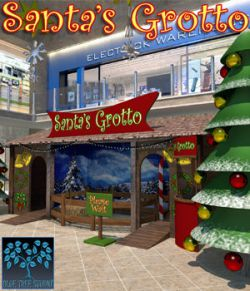 Santa's Grotto for Poser