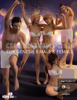 Celebration Poses for Genesis 8