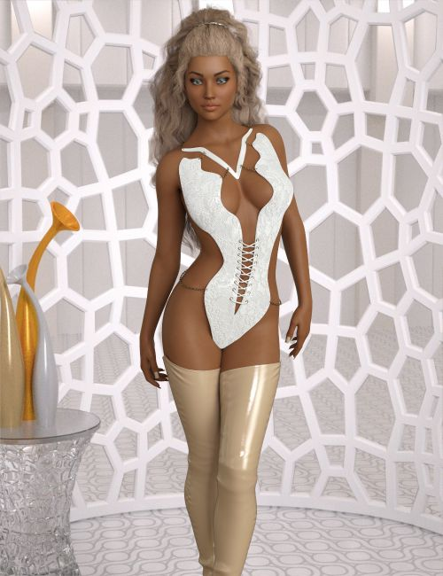 InStyle - Charming Fantasy Outfit for Genesis 3 & 8 Female