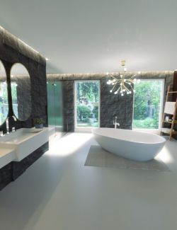 Modern Euro Bathroom