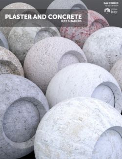 Plaster and Concrete- Iray Shaders
