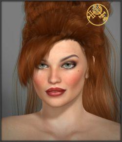 White Magic Hair Pins for V4