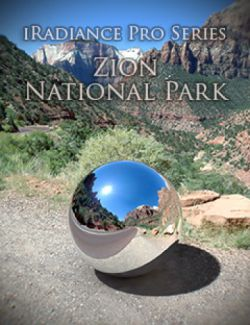 iRadiance Pro Series 16k HDRIs- Zion National Park