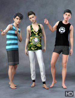 Teen Boys HD for Genesis 8 Male