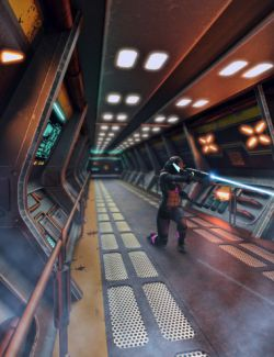 Sci-fi Corridor Level 21