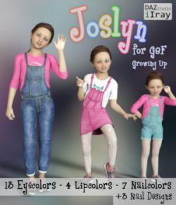 Joslyn for Genesis 8 Female Growing Up IRAY- G8F