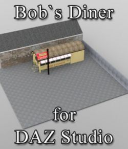 Bobs Diner- for DAZ Studio