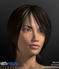 Miki 2.0 Hair Refitted for G2 Females