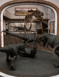 Dinosaur Exhibition Gallery