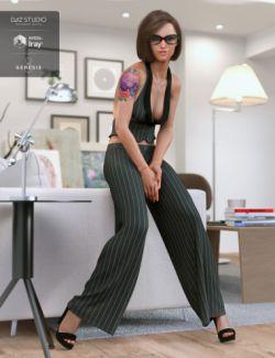 dForce City Seduction Outfit for Genesis 8 Female(s)
