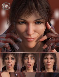 Strong Will - Expressions for Genesis 8 Female(s)