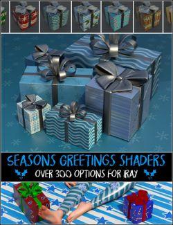Seasons Greetings Paper Shaders