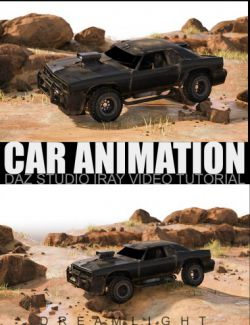 Car Animation- Daz Studio Iray Video Tutorial