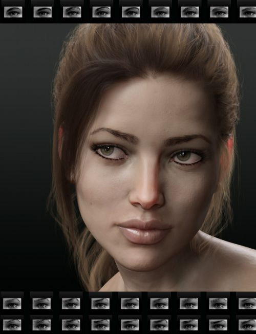 Beautiful Brows for Genesis 8 Female(s)