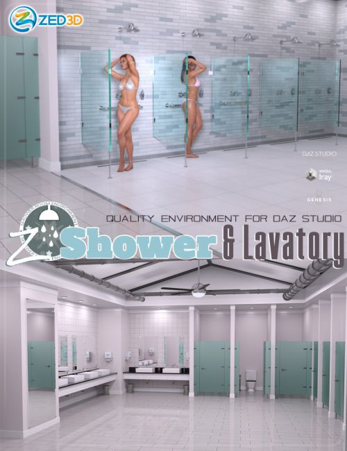 Z Shower and Lavatory Environment