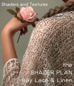 Shader Plan - Iray Lace and Linen