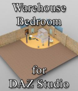 Warehouse Bedroom - for DAZ Studio
