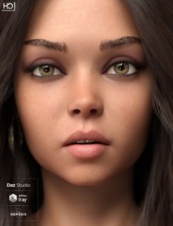 Anzhelika HD for Genesis 8 Female