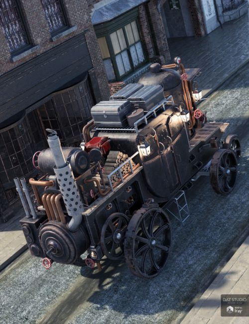 Steam Powered Carriage