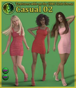 Casual 02 for H and C Club Dress for G8F and G3F