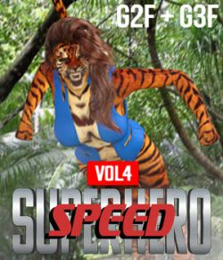 SuperHero Speed for G2F and G3F Volume 4