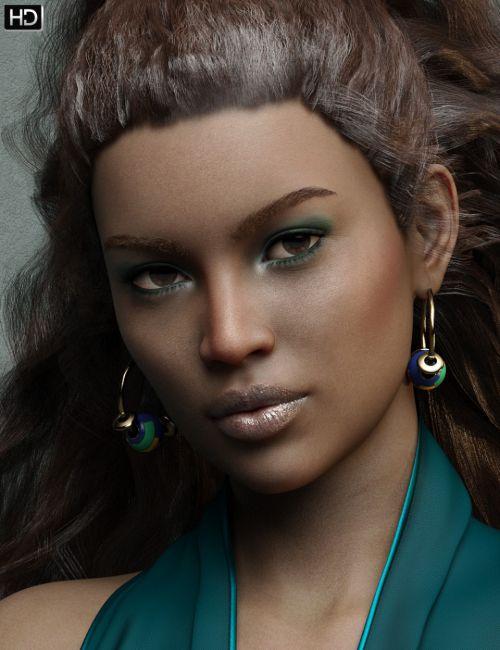 Makayla HD for Genesis 8 Female