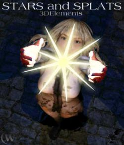 3D Elements - Stars and Splats for Poser and Daz Studio