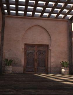 Morocco Balcony