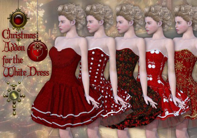 Christmas Addon for the White Dress