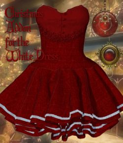 Christmas Addon for the White Dress