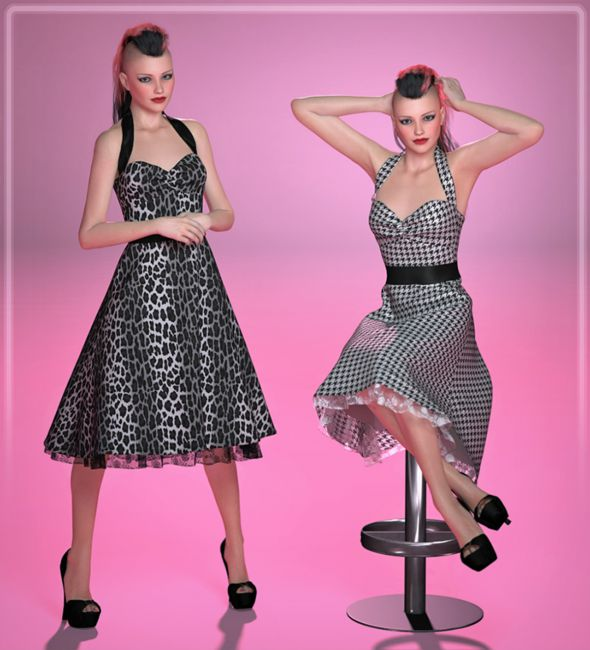 FRQ Dynamics: Rockabilly Dress
