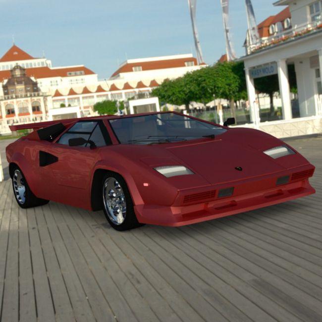Lamborghini Countach - for DAZ Studio