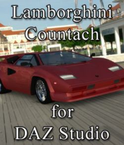 Lamborghini Countach- for DAZ Studio