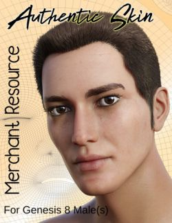 Authentic Skin Merchant Resource for Genesis 8 Male