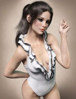 X-Fashion Charm Bodysuit for Genesis 8 Female(s)