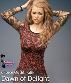SublimelyVexed Dawn of Delight Dress|G8|dForce