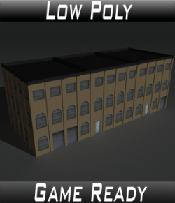 Low Poly Factory Building 9 - Extended Licence