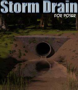 Storm Drain for Poser
