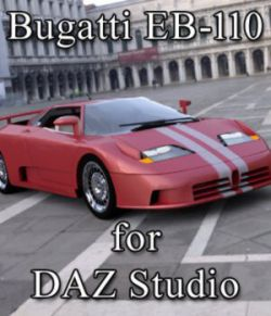 Bugatti EB 110 - for DAZ Studio